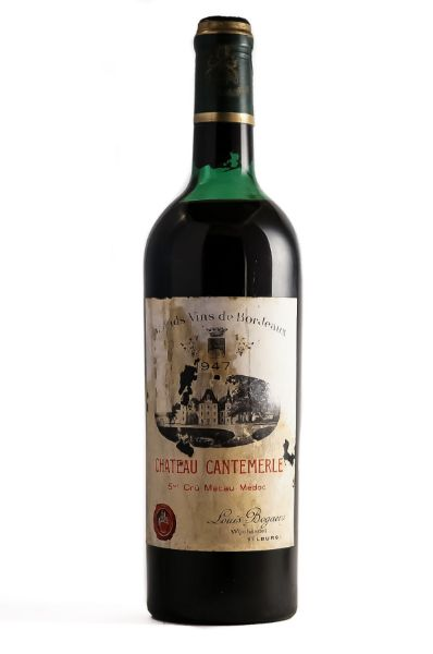 Picture of 1947 Château Cantemerle, Haut-Medoc