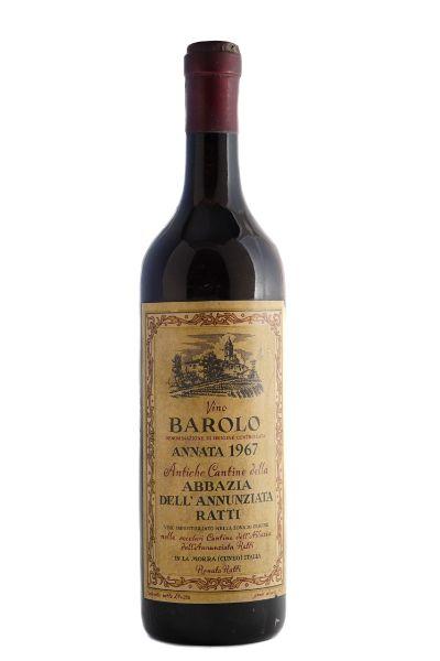 Picture of 1967 Ratti Barolo Abbazia dell'Annunziata