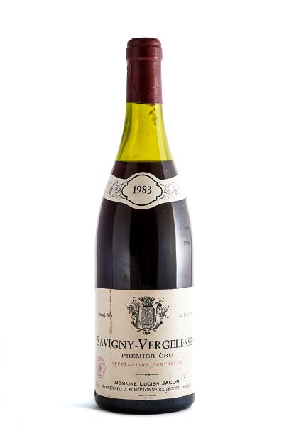 Picture of 1983 Domaine Lucien Jacob Savigny-Les beaune Vergelesses 1er Cru