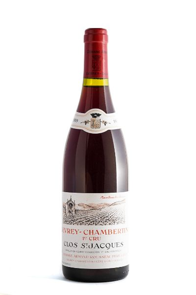 Picture of 1989 Armand Rousseau Gevrey-Chambertin Clos St.Jacques 1er Cru
