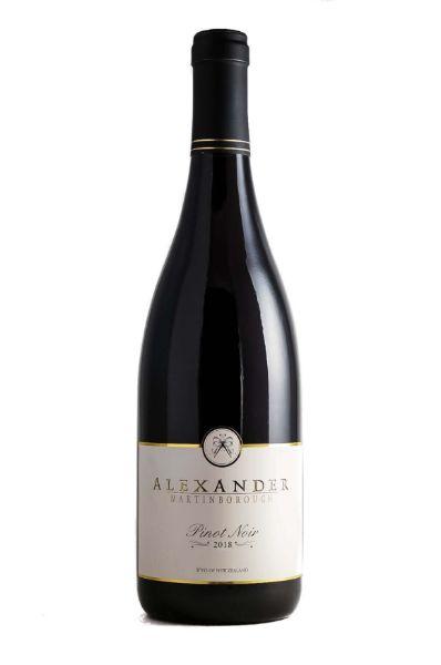 Picture of 2018 Alexander Vineyards Pinot Noir