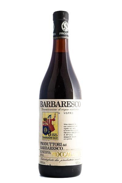 Picture of 1974 Produttori del Barbaresco Barbaresco, Moccagatta
