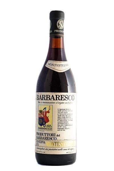 Picture of 1971 Produttori del Barbaresco Barbaresco Montestefano Riserva