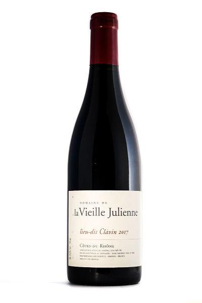 Picture of 2017 Domaine de la Vieille Julienne Côtes du Rhône Lieu-Dit Clavin
